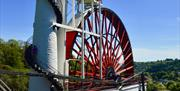 The impressive 'Lady Isabella' the world's largest working water wheel.