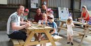 Family DIY Breakfast Barn