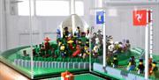 Tynwald Hill - in Lego!
