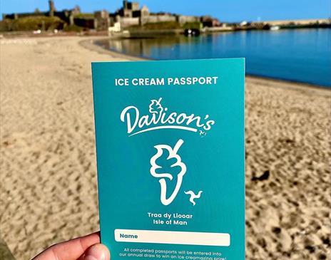 Our new Davison's passports/ island wide loyalty scheme