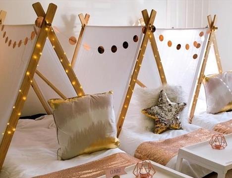 Lounge Sleepover Tents