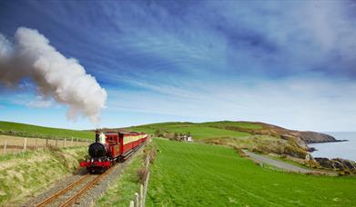 Steam Railway by the coast