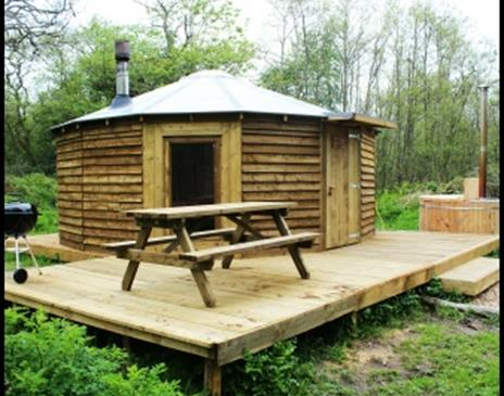 Saba's Glen Yurt Eco Campsite