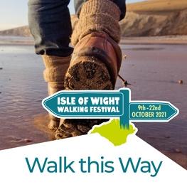 Isle of Wight Walking Festival 2021 Logo