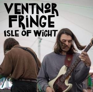 Two musicians playing at Ventnor Fringe