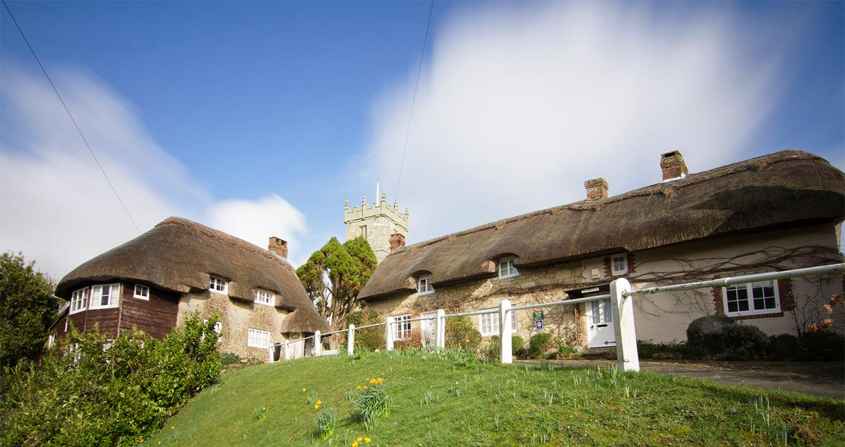 Godshill Cottages & Church