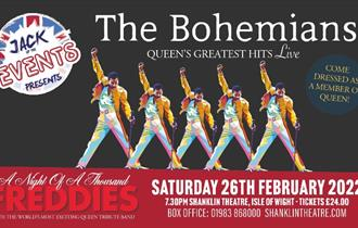 Isle of Wight, Things to Do, Jack Up Presents, Shanklin Theatre, Live Music, The Bohemians