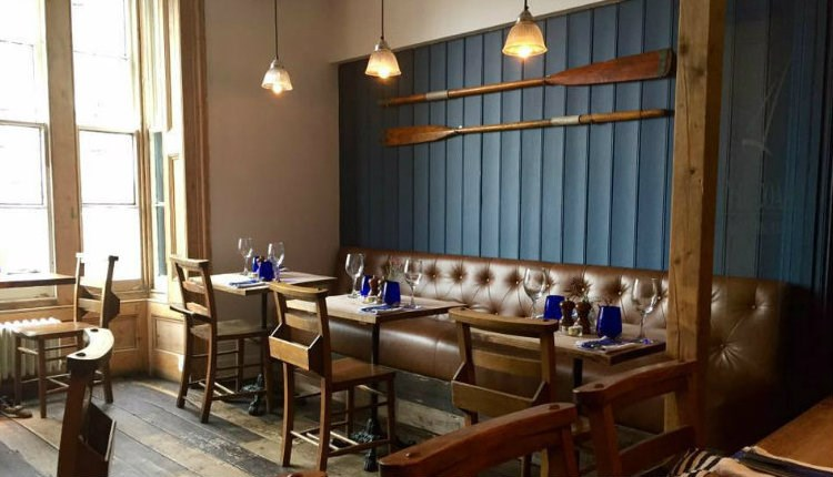 Dining area upstairs at The Coast Bar & Dining Room, Cowes, Eat & Drink