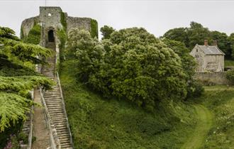 The Bowling Green Apartment at Carisbrooke Castle