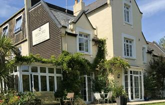 Outside view of Bedford Lodge, B&B, Shanklin, Isle of Wight