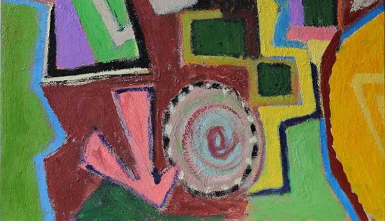 Isle of Wight, Things to Do, Ventnor Botanic Gardens, Art Exhibition, Abstract Image