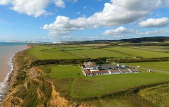 Isle of Wight, Shopping & Attraction, Isle of Wight Pearl, Ariel View, Brighstone, WEST WIGHT