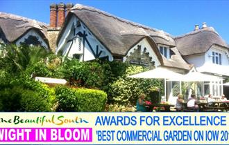 Isle of Wight, Eating Out, Vernon Cottage, Old Shanklin, Awards