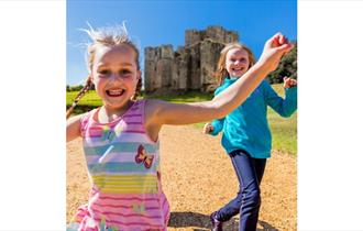 Isle of Wight, Things to do, Carisbrooke Castle, English Heritage, Kids Rule, May Half Term