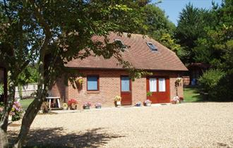 Isle of Wight, Accommodation, Clock House Annexe, Outside image