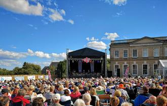 Company B-UK performing at the Wight Proms, What's On, Cowes, Isle of Wight