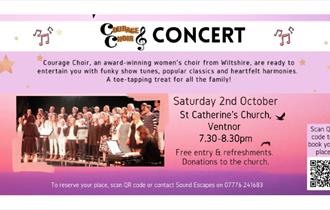 Isle of Wight, Things to do, Events, Courage Choir
