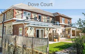 Outside view of Dove Court, Shanklin,Self Catering