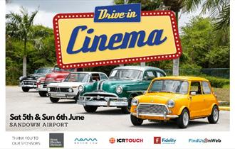 Isle of Wight, Things to Do, Drive in Cinema, Wessex Cancer Trust, Sandown Airport