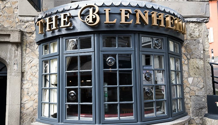 Isle of Wight, Eating Out, Pub, The Blenheim, VENTNOR