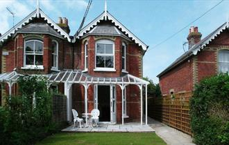 Isle of Wight, Accommodation, Self Catering, Freshwater, Loreto, Outside Space