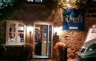 Isle of Wight, Eating Out, Godshill, Woods Kitchen