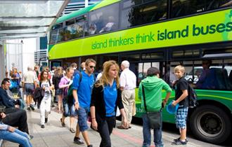 Newport tourist information centre at Newport bus station
