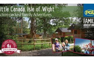 Isle of Wight, Things to do, PGL Little Canada, Family Adventure Days and Stays