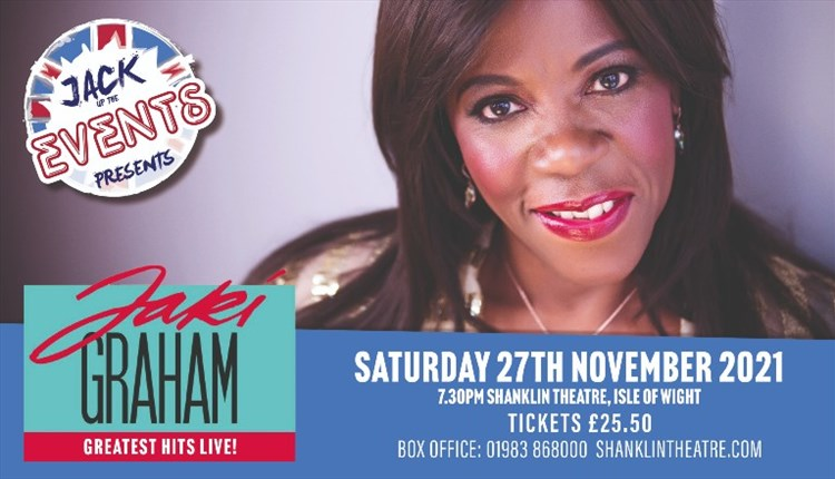 Isle of Wight, Things to Do, Shanklin Theatre, Jack Up Events, Jaki Graham, Greatest Hits