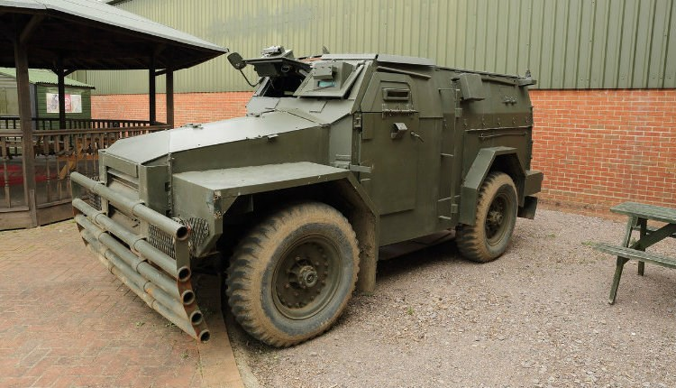 Vehicle at The Wight Military & Heritage Museum, Isle of Wight, Things to Do