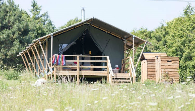 Tent at Sibbecks Farm Glamping, Self-catering, Isle of WightSibbekc