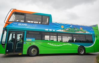 Southern Vectis bus - Isle of Wight sightseeing