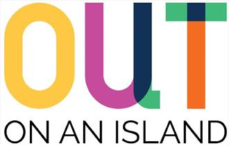 Isle of Wight, Out On An Island, Events, Pride Month, Exhibition, Film, Quay Arts, Logo