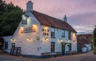 Food and Drink, The New Inn, Shalfleet, Isle of Wight, Award Winning Food