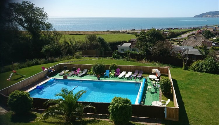 Isle of Wight, Accommodation, Sandown Manor, Pool