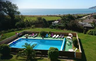 Isle of Wight, Accommodation, Sandown Manor, Pool