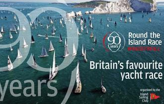 Yachts racing around Needles, 2021 is 90th year of Round the Island Race, Isle of Wight, What's On