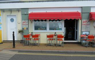 Isle of Wight, Eating Out, Lady Scarletts Tea Parlour, Ventnor