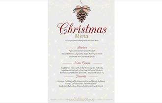 Isle of Wight, Seaview Hotel, Christmas Party, Eating Out, Christmas Entertainment, menu