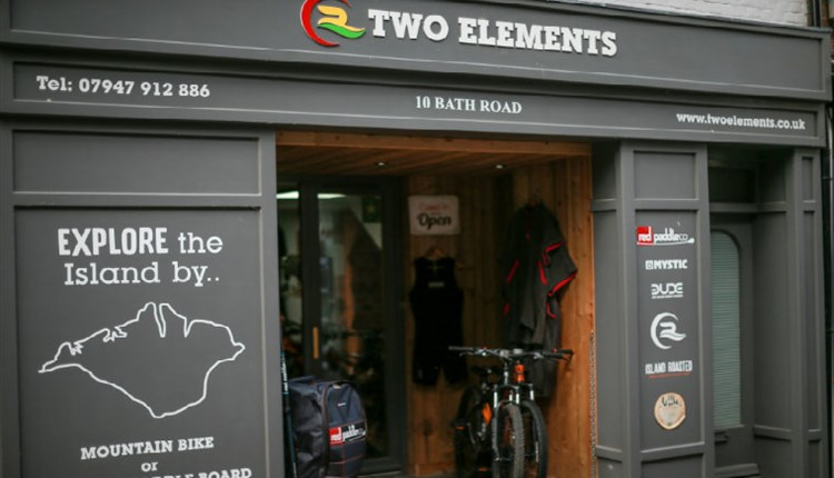 Isle of Wight, Transport, Bike Hire, COWES, Two Elements, Shop