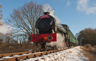 Isle of Wight, Things to Do, Christmas Events, Carvery Supper, Steam Railway, Havenstreet,
