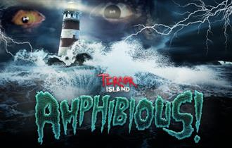 Isle of Wight, Things to do, Blackgang Chine, Terror Island, Amphibious
