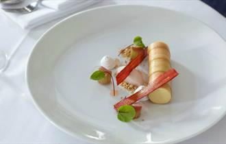 Quality cuisine at The Royal Restaurant, Ventnor, local produce, let's buy local