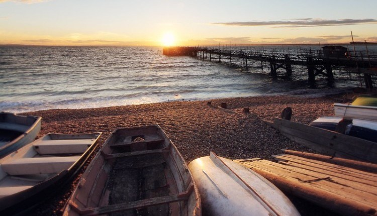 Sunset over Totland Pier, Isle of Wight, Things to Do