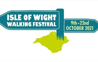 Isle of Wight Walking Festival logo 2021, what's on