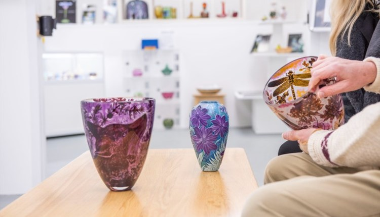 Image of glass vases