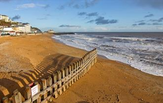 View of sea from Ventnor Beach, Isle of Wight, Things to Do