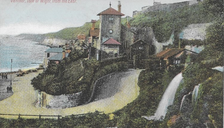 Isle of Wight, Things to Do, Walking/Tours, Ventnor, Russian Romanov, old press clipping image of Ventnor