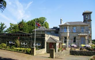 Outside view of the Appley Manor, Ryde, pub