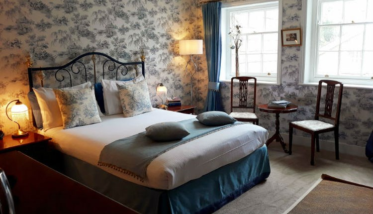 Double bedroom at Keats Cottage, Shanklin, B&B, Isle of Wight